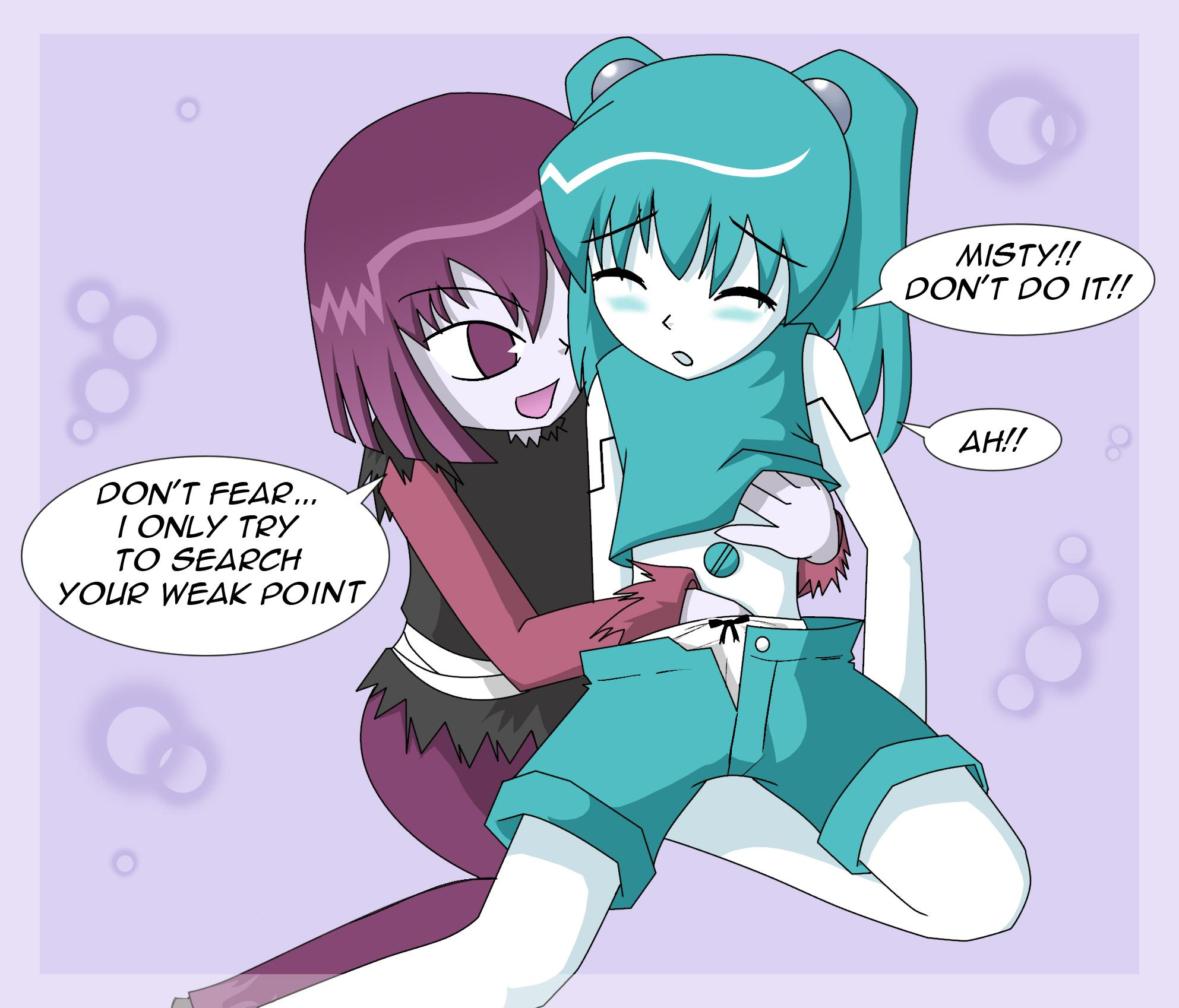 my as teenage life a robot misty Samus and the baby metroid