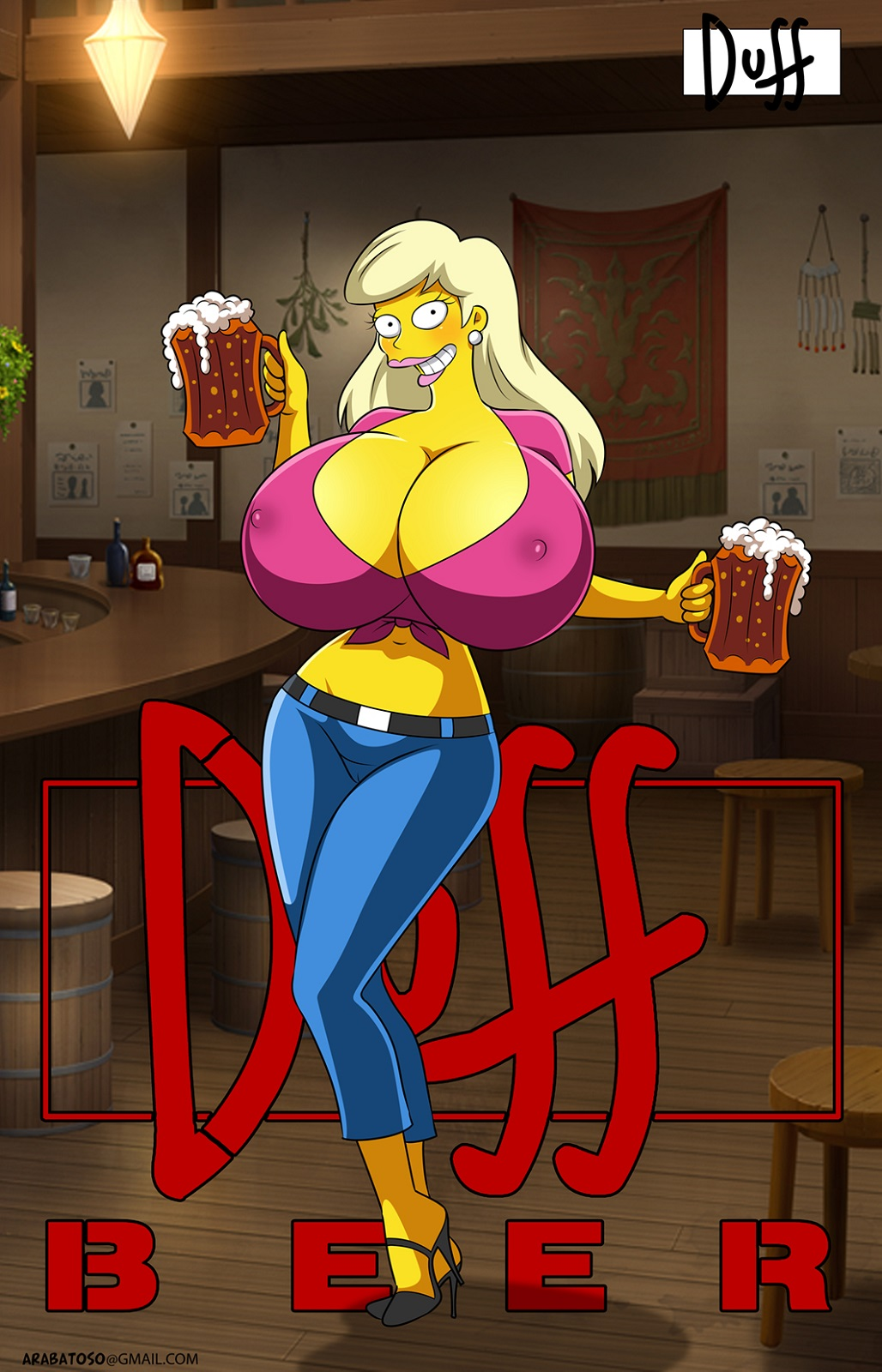 simpsons from the marge naked Nephenee fire emblem radiant dawn