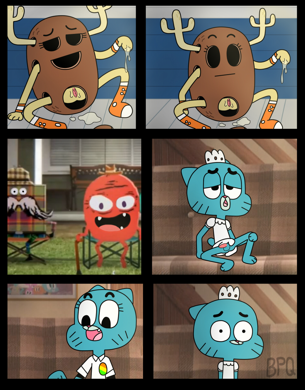 nude the amazing gumball of world The amzing world of gumball porn