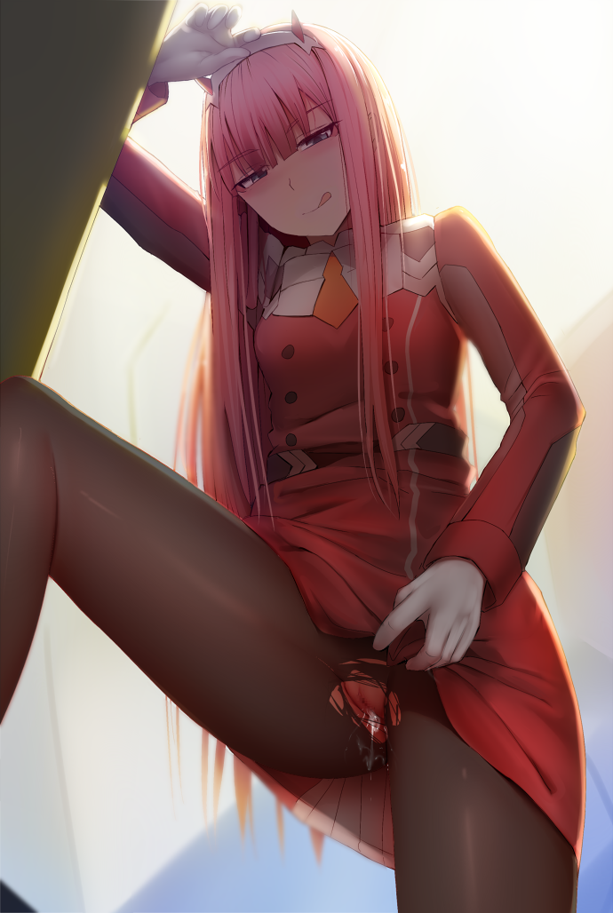 in girl darling the franxx All the way in xxx