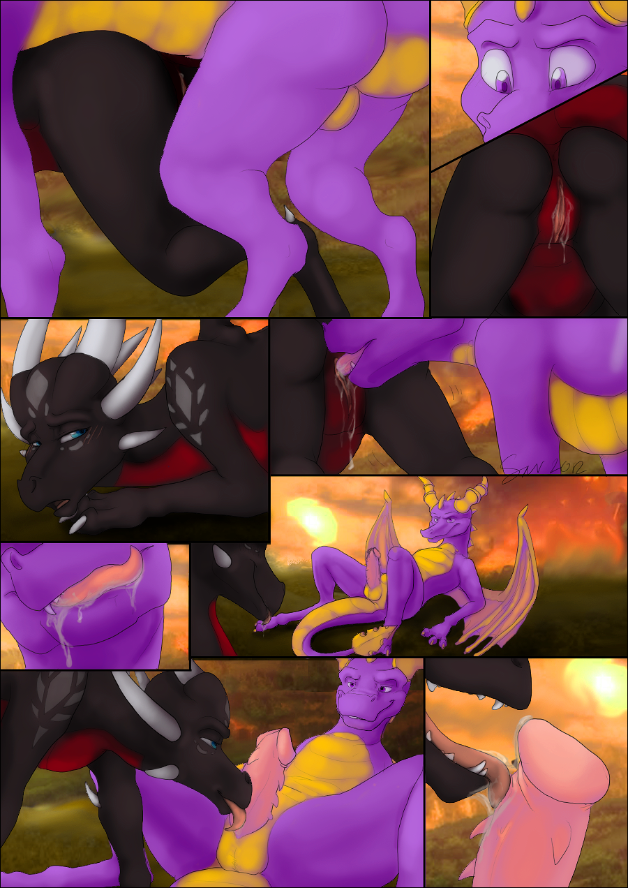 dragon the riders porn of Tale of demon and gods