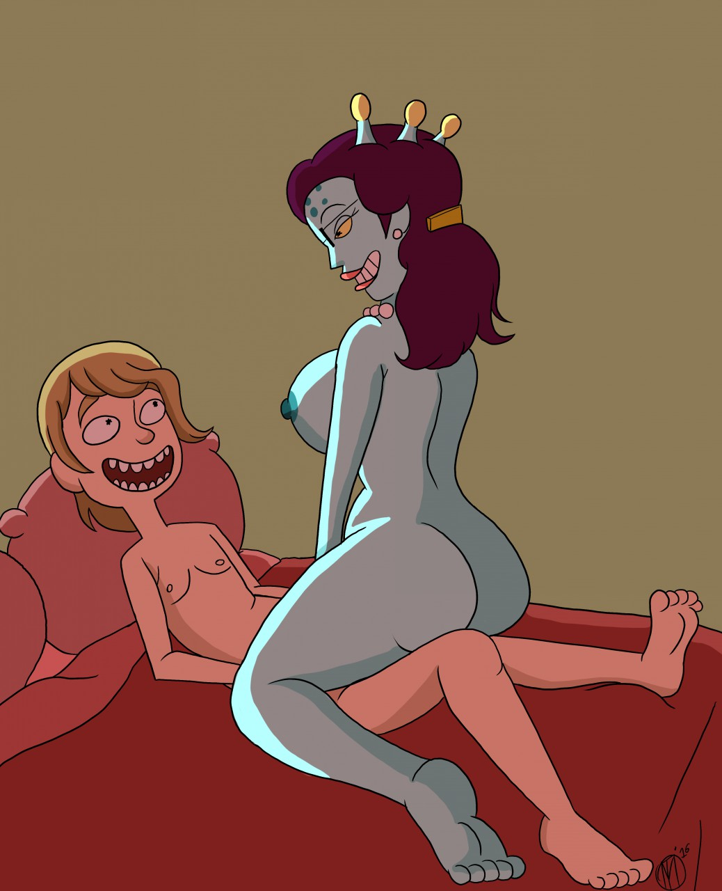 thirsty step and rick morty World of warcraft breast expansion