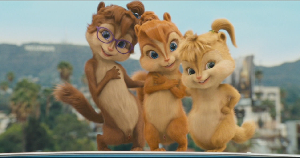 chipmunks alvin eleanor the and Oban star racers