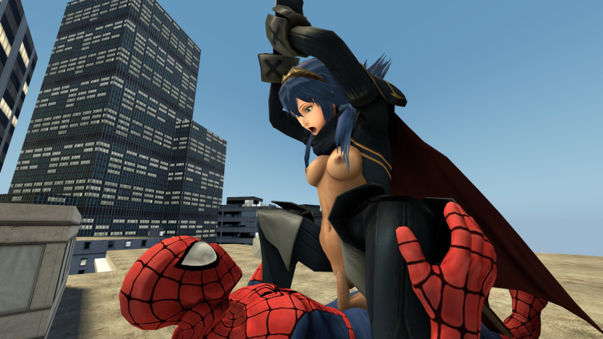 spider man liz peter spectacular and One piece nico robin nude
