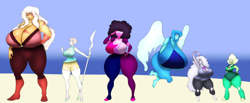 lapis lazuli peridot steven and universe Dont care didnt ask plus youre white