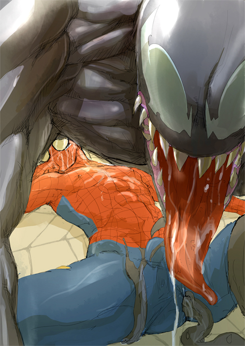 characters shadows spider man of symbiote web Five nights at anime mangle